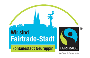 Logo Fairtrade-Stadt Neuruppin