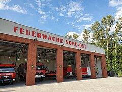 Die neue Feuerwache in Alt Ruppin
